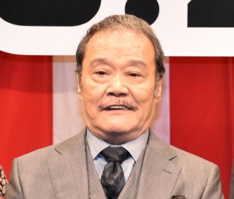映画『任侠学園』の完成披露試写会に登壇した西田敏行 (C)ORICON NewS inc.