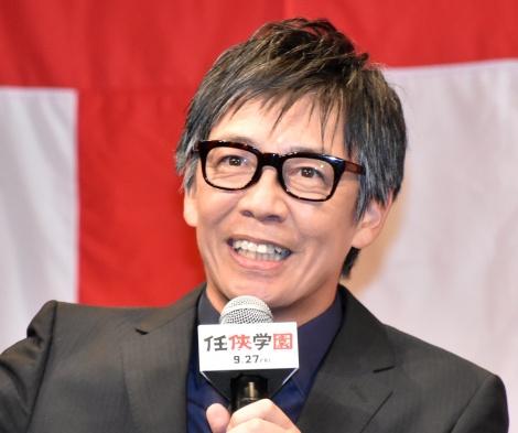 映画『任侠学園』の完成披露試写会に登壇した生瀬勝久 (C)ORICON NewS inc.