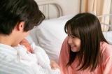 連続テレビ小説『なつぞら』第21週・第125回より。なつ(広瀬すず)は女の子を出産(C)NHK
