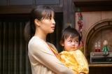 連続テレビ小説『なつぞら』第22週・第127回より。なつ(広瀬すず)の娘・優は日に日に成長していく(C)NHK