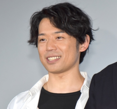 映画『王様になれ』の完成披露上映会に参加した岡田義徳 (C)ORICON NewS inc.
