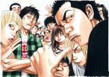 漫画『べしゃり暮らし』のイラスト(C)森田まさのり・スタジオヒットマン/集英社