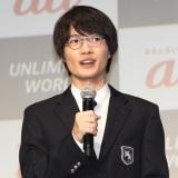 『au UNLIMITED WORLD 発表会』に登場した神木隆之介 (C)ORICON NewS inc.