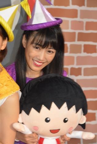 アニメ『ちびまる子ちゃん』の夏休みトークイベントに出席したももいろクローバーZ・高城れに (C)ORICON NewS inc.