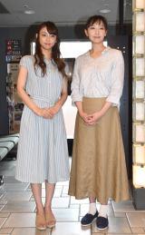 (左から)山谷花純、大空ゆうひ (C)ORICON NewS inc.