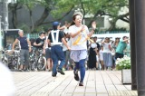 『24時間テレビ』駅伝を走りきった水卜麻美アナ(C)日本テレビ