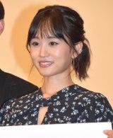 映画『葬式の名人』完成披露舞台あいさつに登壇した前田敦子 (C)ORICON NewS inc.