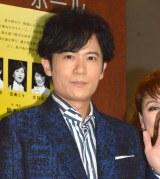 ジャニーさんのお別れ会質問に苦笑していた稲垣吾郎 (C)ORICON NewS inc.