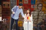 稲垣吾郎&安寿ミラ=舞台『君の輝く夜に〜FREE TIME,SHOW TIME〜』公開舞台けいこ 撮影:御堂義乘