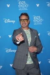 『D23Expo2019』ディズニー・レジェンドの授賞式に出席したロバート・ダウニー・Jr. (C)Walt Disney Television