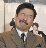 舞台『愛と哀しみのシャーロック・ホームズ』の公開けいこに参加した佐藤二朗 (C)ORICON NewS inc.