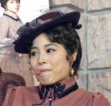 舞台『愛と哀しみのシャーロック・ホームズ』の公開けいこに参加した広瀬アリス (C)ORICON NewS inc.