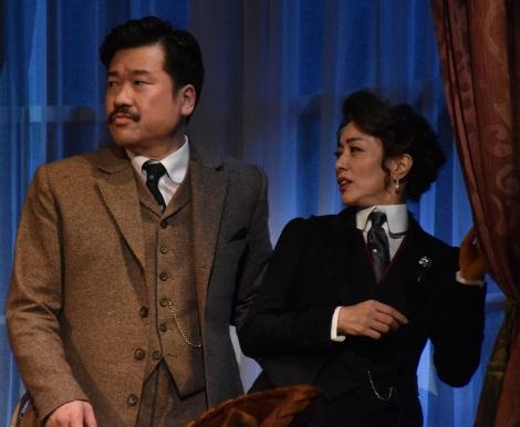 舞台『愛と哀しみのシャーロック・ホームズ』の公開けいこの模様 (C)ORICON NewS inc.