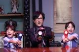 フジテレビ『ほんとにあった怖い話 20周年スペシャル』10月12日放送(中央)稲垣吾郎 (C)フジテレビ 『ほんとにあった怖い話 夏の特別編2018』より