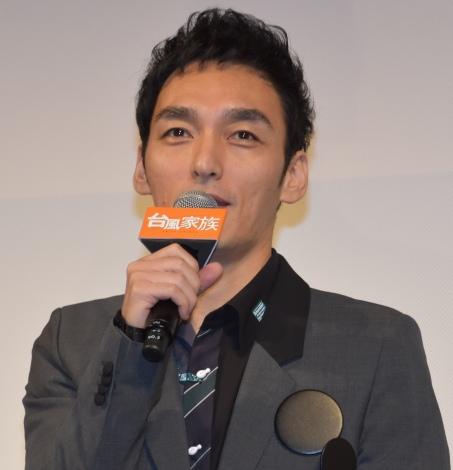 『台風家族』(9月6日公開)初お披露目イベントに出席した草なぎ剛 (C)ORICON NewS inc.