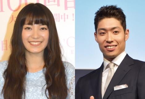 サムネイル 今秋結婚するmiwa(左)と萩野公介選手 (C)ORICON NewS inc.