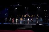 新たなヒーローチームを描く『The Eternals(エターナルズ:原題)』(2020年11月6日に全米公開)のキャストが勢ぞろい (C)Disney (C)2019 MARVEL