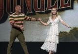 『Jungle Cruise(ジャングル・クルーズ:原題)』(2020年7月24日全米公開)に出演するドゥエイン・ジョンソンとエミリー・ブラント(C)Disney