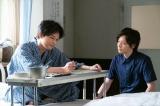 連続テレビ小説『なつぞら』第23週・第133回より。入院した天陽(左・吉沢亮)を見舞う兄・陽平(右・犬飼貴丈)(C)NHK