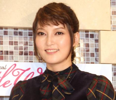 ミュージカル『Little Women-若草物語-』公開ゲネプロ前囲み取材に出席した朝夏まなと (C)ORICON NewS inc.