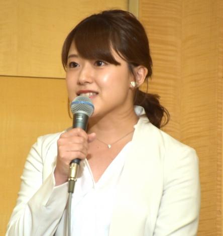 第5回自主公演『ABKAI 2019〜第一章 FINAL〜』製作発表会見に出席した尾崎里紗アナ (C)ORICON NewS inc.