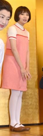 舞台『サザエさん』の初日公演を終え、取材会に参加したワカメ役の秋元真夏 (C)ORICON NewS inc.