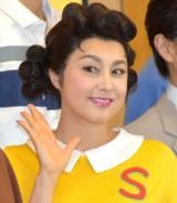 舞台『サザエさん』の初日公演を終え、取材会に参加した藤原紀香 (C)ORICON NewS inc.