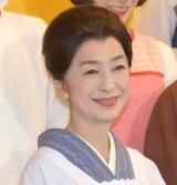 舞台『サザエさん』の初日公演を終え、取材会に参加したフネ役の高橋恵子 (C)ORICON NewS inc.
