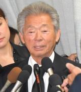 ジャニー喜多川さんのお別れの会に参列したみのもんた (C)ORICON NewS inc.