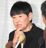 ジャニー喜多川さんのお別れの会に参列した和田アキ子 (C)ORICON NewS inc.