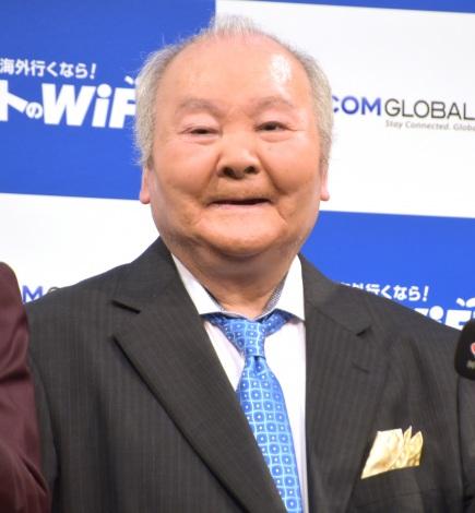 『イモトのWi-Fi』新CM発表会に出席した加藤一二三 (C)ORICON NewS inc.