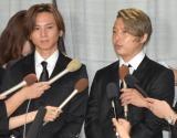 ジャニー喜多川さんのお別れの会に参列したKinKi Kids (C)ORICON NewS inc.
