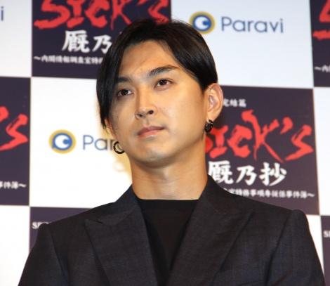 ドラマ『SPECサーガ完結篇 SICK'S 厩乃抄』イベントに登場した松田翔太 (C)ORICON NewS inc.