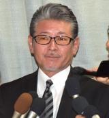 ジャニー喜多川さんのお別れの会に参列した布川敏和 (C)ORICON NewS inc.