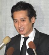 ジャニー喜多川さんのお別れの会に参列した大沢樹生 (C)ORICON NewS inc.