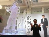 歌謡ショー「歌手生活五十五周年 感謝の響宴」公演前の囲み取材に出席した五木ひろし (C)ORICON NewS inc.