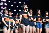アンコールで卒業を発表した太田夢莉(中央)(C)NMB48