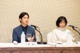 TBCテレビ60周年記念ドラマ『小さな神たちの祭り』(11月20日放送)出演者の千葉雄大、土村芳(C)TBCテレビ