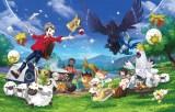 ポケモンの新作ゲーム『ポケットモンスター ソード・シールド』のビジュアル