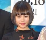 映画『楽園』の完成披露イベントに参加した杉咲花 (C)ORICON NewS inc.