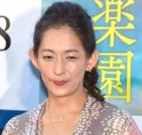 映画『楽園』の完成披露イベントに参加した片岡礼子 (C)ORICON NewS inc.