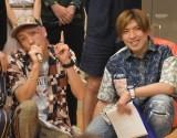 『オールナイトニッポン0(ANN ZERO)〜決戦!お笑い有楽城〜』公開収録に参加したEXIT(左から)兼近大樹、りんたろー。 (C)ORICON NewS inc.
