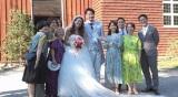 TBS『世界ふしぎ発見!』でLiLiCo と純烈・小田井のスウェーデン結婚式を独占取材(C)TBS