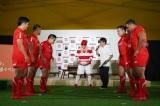 『ラグビー日本代表応援イベント』に参加したDJ KOO。撮影:若狭健太郎(C)ORICON NewS inc.