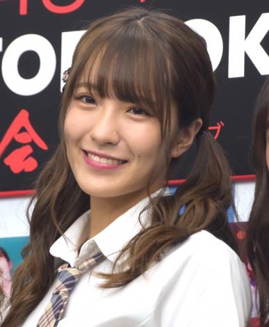 『NMB48近畿十番勝負2019 PHOTOBOOK』発売記念握手会に出席した小嶋花梨 (C)ORICON NewS inc.