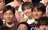 『キングオブコント(KOC)2019』準決勝後の会見に出席したジャルジャル(左から)後藤淳平、福徳秀介