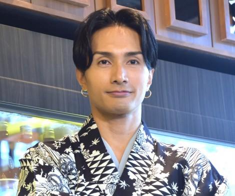"""NEO角打ち""店をプロデュースした橘ケンチ=『LDH Kitchen IZAKAYA AOBADAI』のプレス発表会 (C)ORICON NewS inc."
