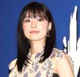 映画『WALKING MAN』の完成披露上映会に出席した優希美青 (C)ORICON NewS inc.