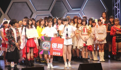 全国のアイドルによる国民的アニメソングのカバーコンテスト『愛踊祭2019』の決勝大会の模様 (C)ORICON NewS inc.