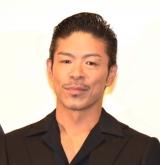 映画『影に抱かれて眠れ』の公開初日舞台あいさつに登壇した松本利夫 (C)ORICON NewS inc.